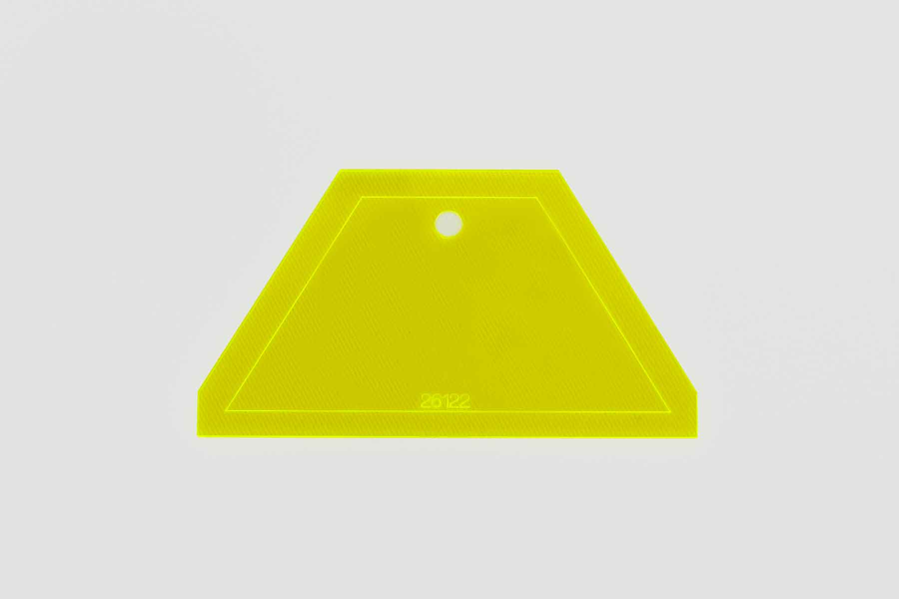 Régua para falso hexagono
