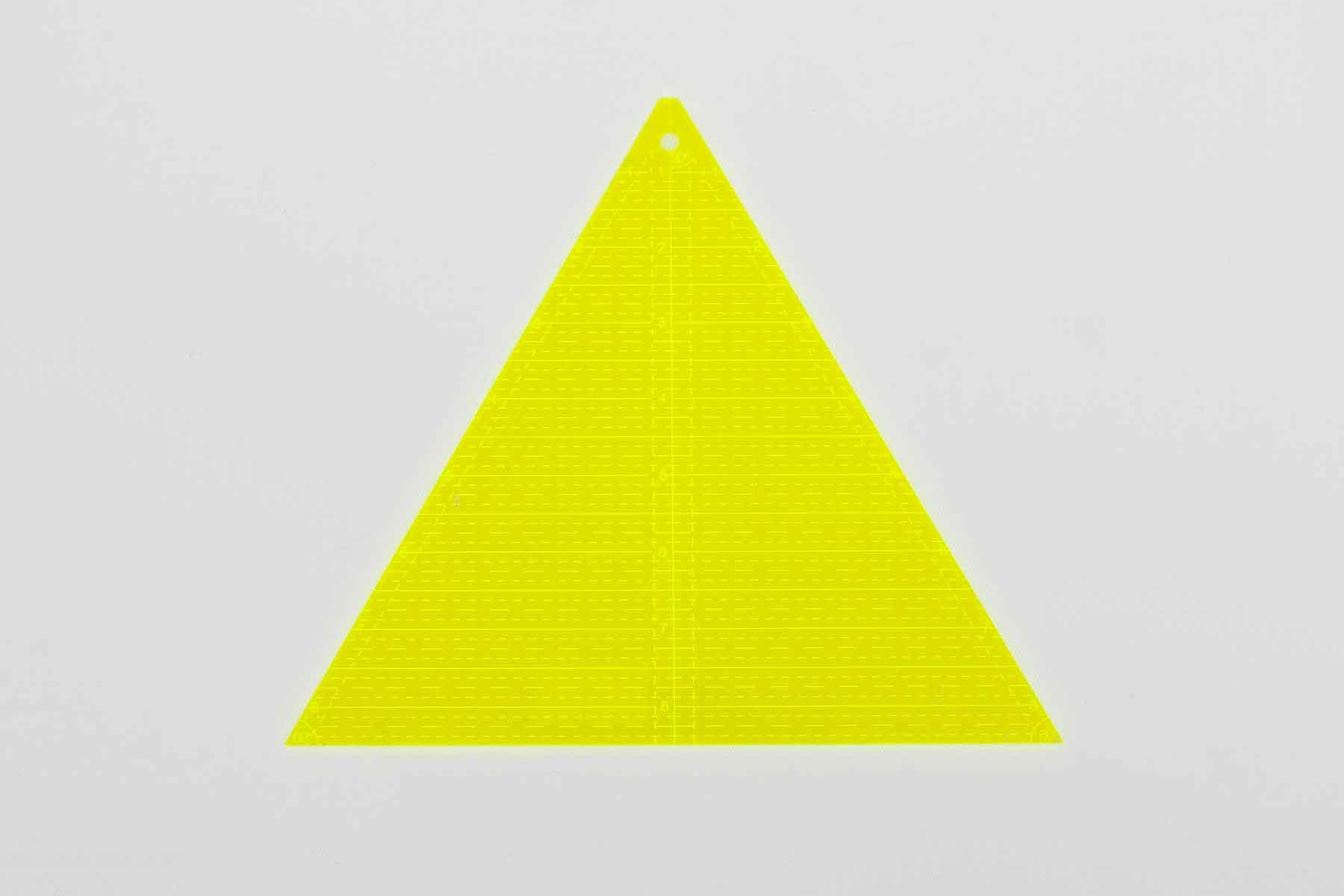 Régua Triangular de 60 graus
